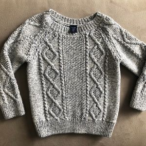 Toddler GAP Gray Knit Sweater
